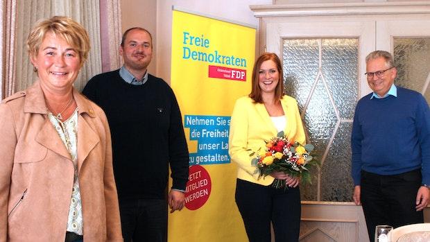 Die FDP Visbek hat eine neue Führungsspitze