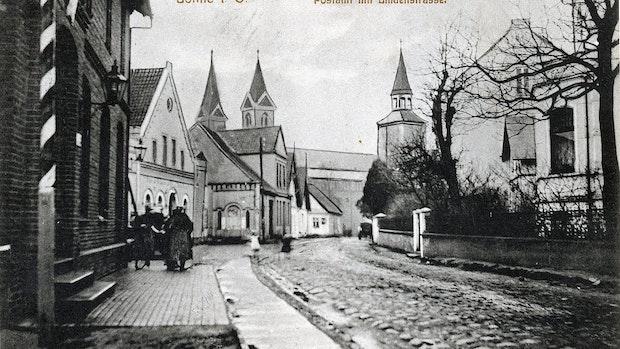 1895 zog die Post an die Lohner Lindenstraße