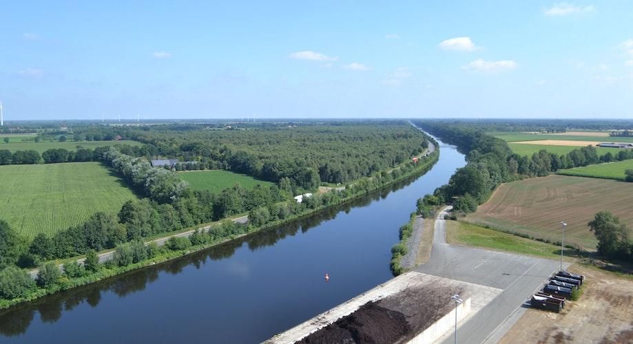 Hafenausbau: Die Kaimauer des C-Port soll um 250 Meter Richtung Oldenburg verlängert werden. Foto: Stix
