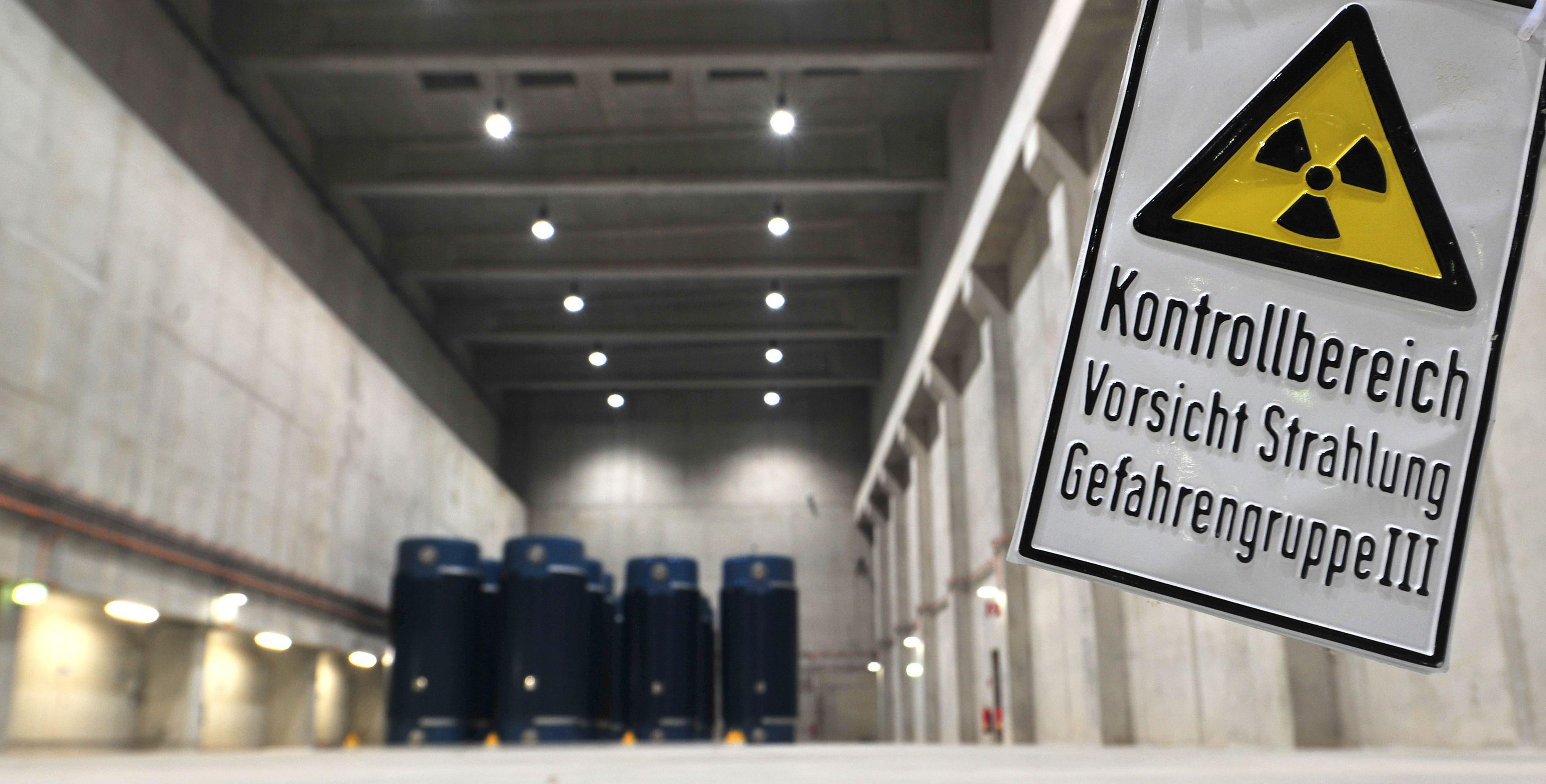 Wohin mit dem hochradioaktiven Abfall? Die Suche nach dem passenden Standort läuft. Foto: dpa/Puchner