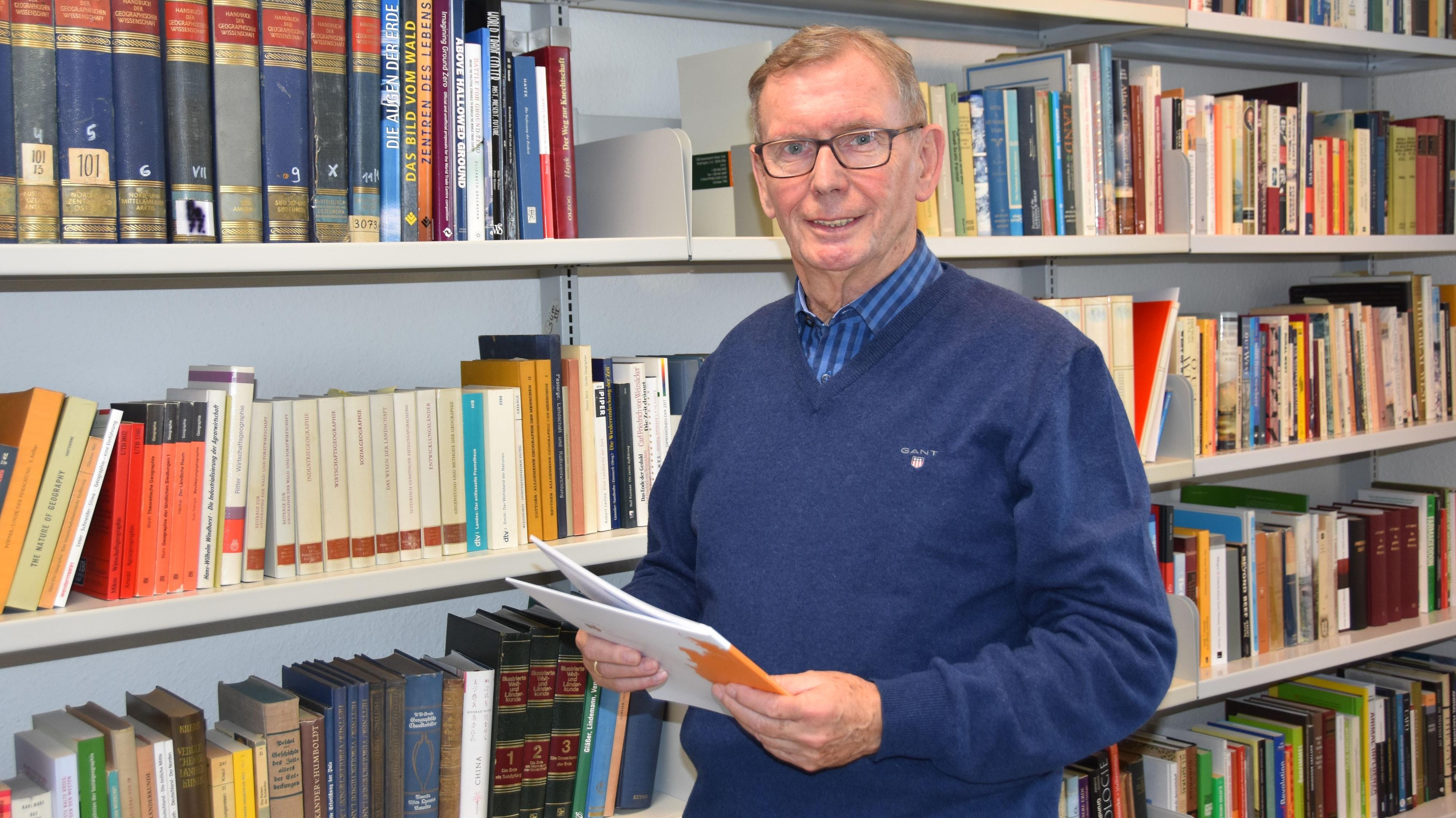 Viele Studienreisen in die USA: Professor Dr. Hans-Wilhelm Windhorst. Foto: Tzimurtas
