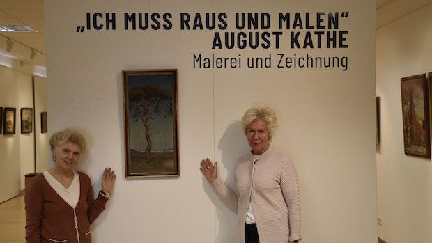 """Ausstellung in Galerie Luzie Uptmoor: """"Ich muss raus und malen"""""""