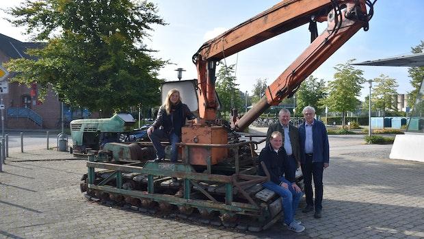 Industriemuseum Lohne darf Moorbagger behalten