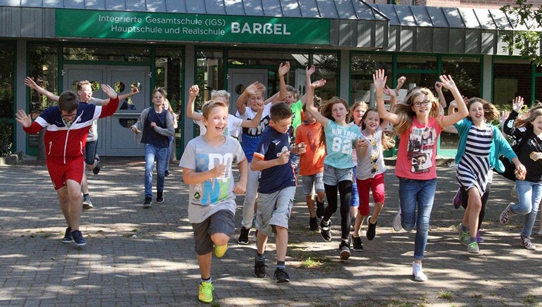 512 Schüler: Die IGS Barßel ist die größte Schule der Gemeinde. Foto: Passmann