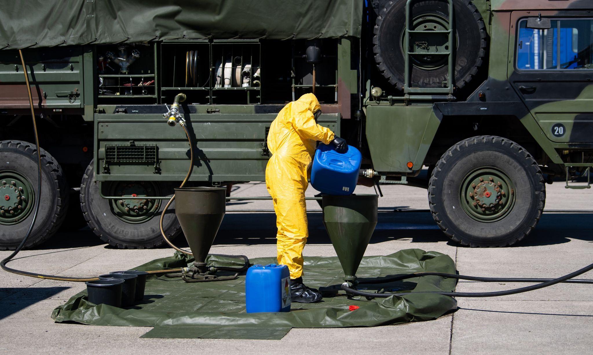 Auf die Bundeswehr könnten Covid-19-Einsätze zukommen. Foto: dpa/Hoppe