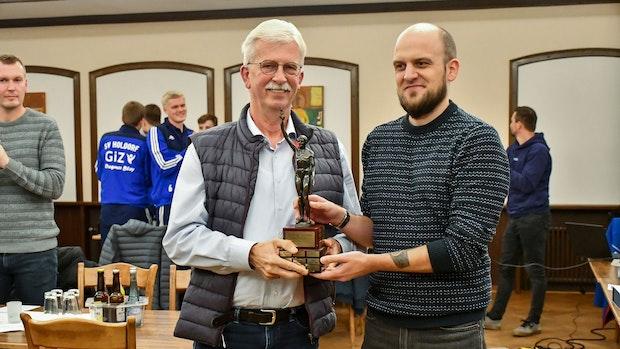 Uwe Prang erhält den Siegfried-Ansmann-Gedächtnispreis
