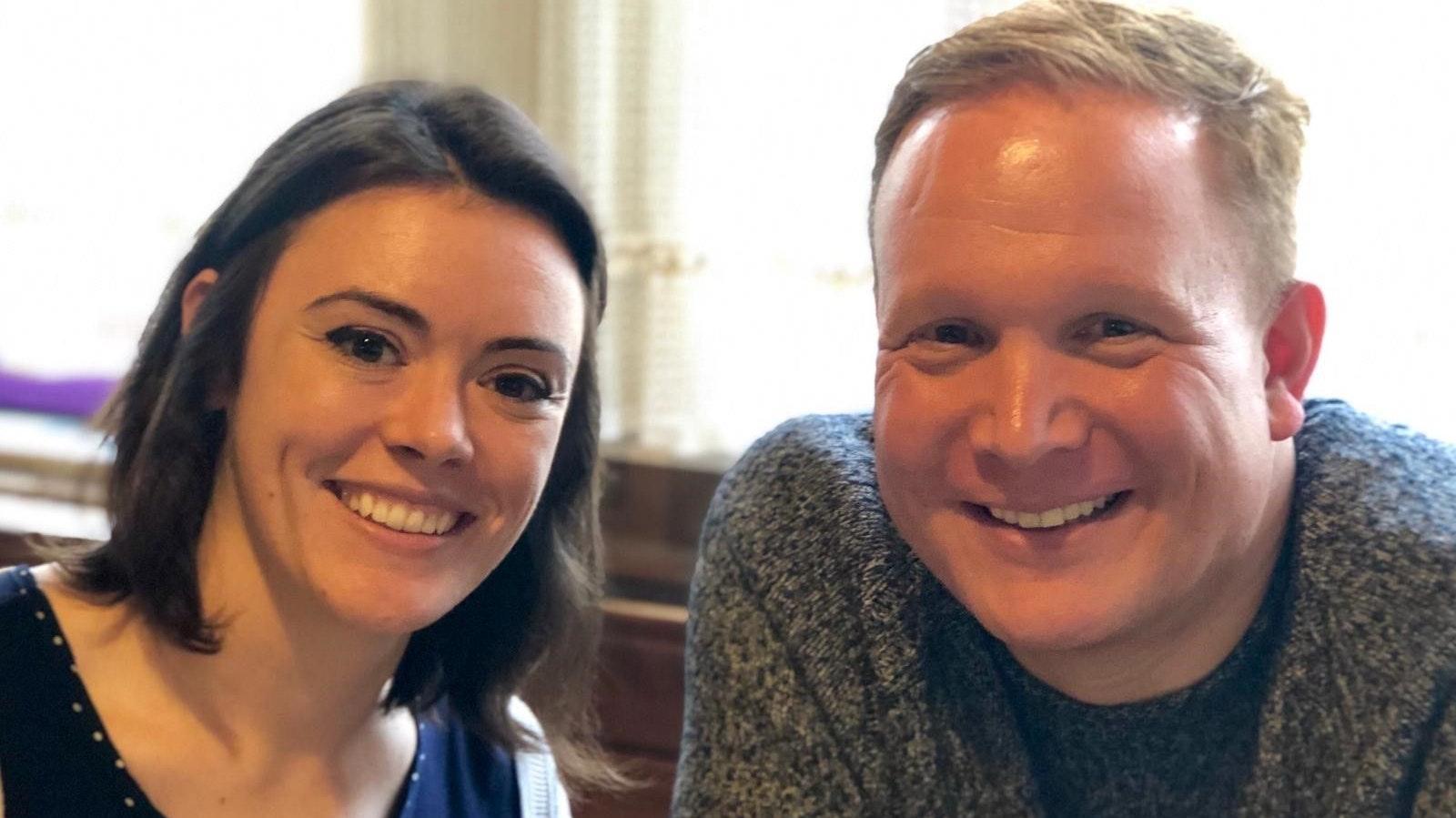 In den USA: Der gebürtige Essener Daniel Feldkamp-Lnych lebt mit seiner Ehefrau Shannon in der Stadt Yorkville. Fotos: © Feldkamp-Lynch