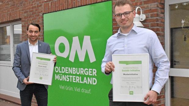 Verbund Oldenburger Münsterland lobt Preisgeld von 5.000 Euro aus