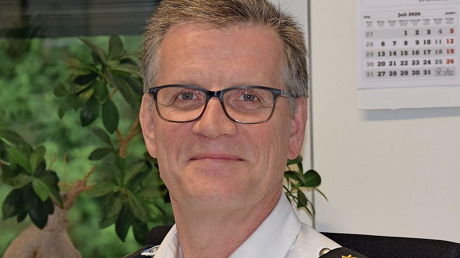 Dienststellenleiter Jörn Kreikebaum. Foto: Polizei