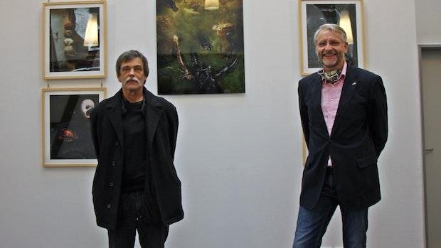 Georg Schreiber zeigt Stillleben und Collagen
