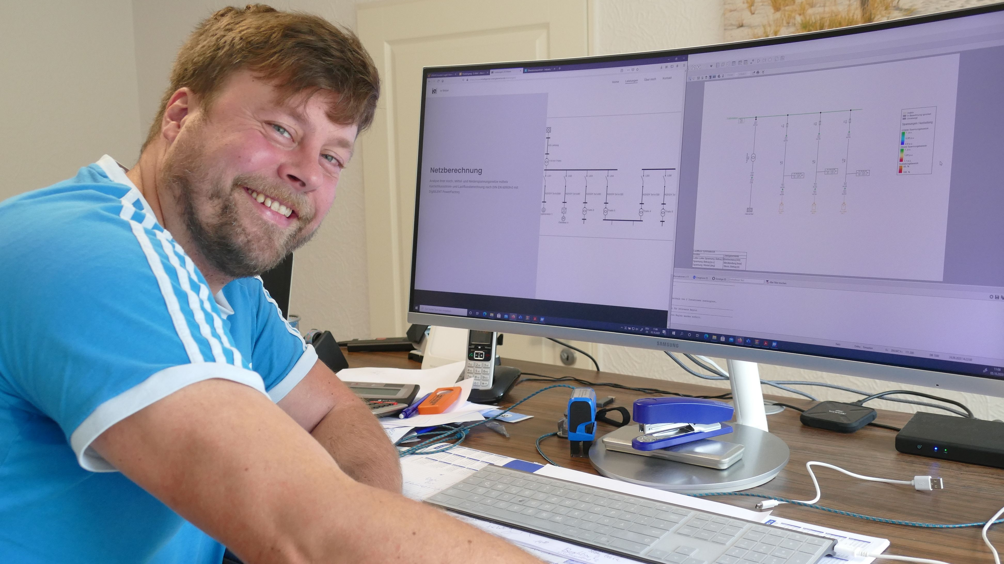 Jungunternehmer: Alexander Weber hat sich vor neun Monaten mit einem Planungsbüro selbstständig gemacht. Foto: Stix