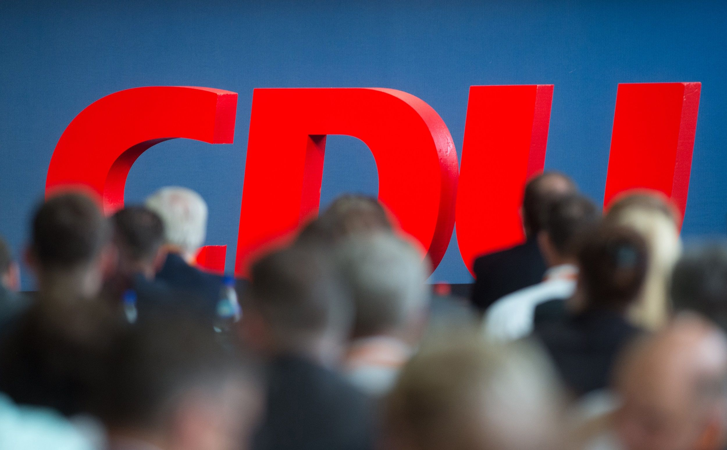 Erst im kommenden Jahr: Die Wahl des CDU-Vorsitzenden. Foto: dpa/Gabbert