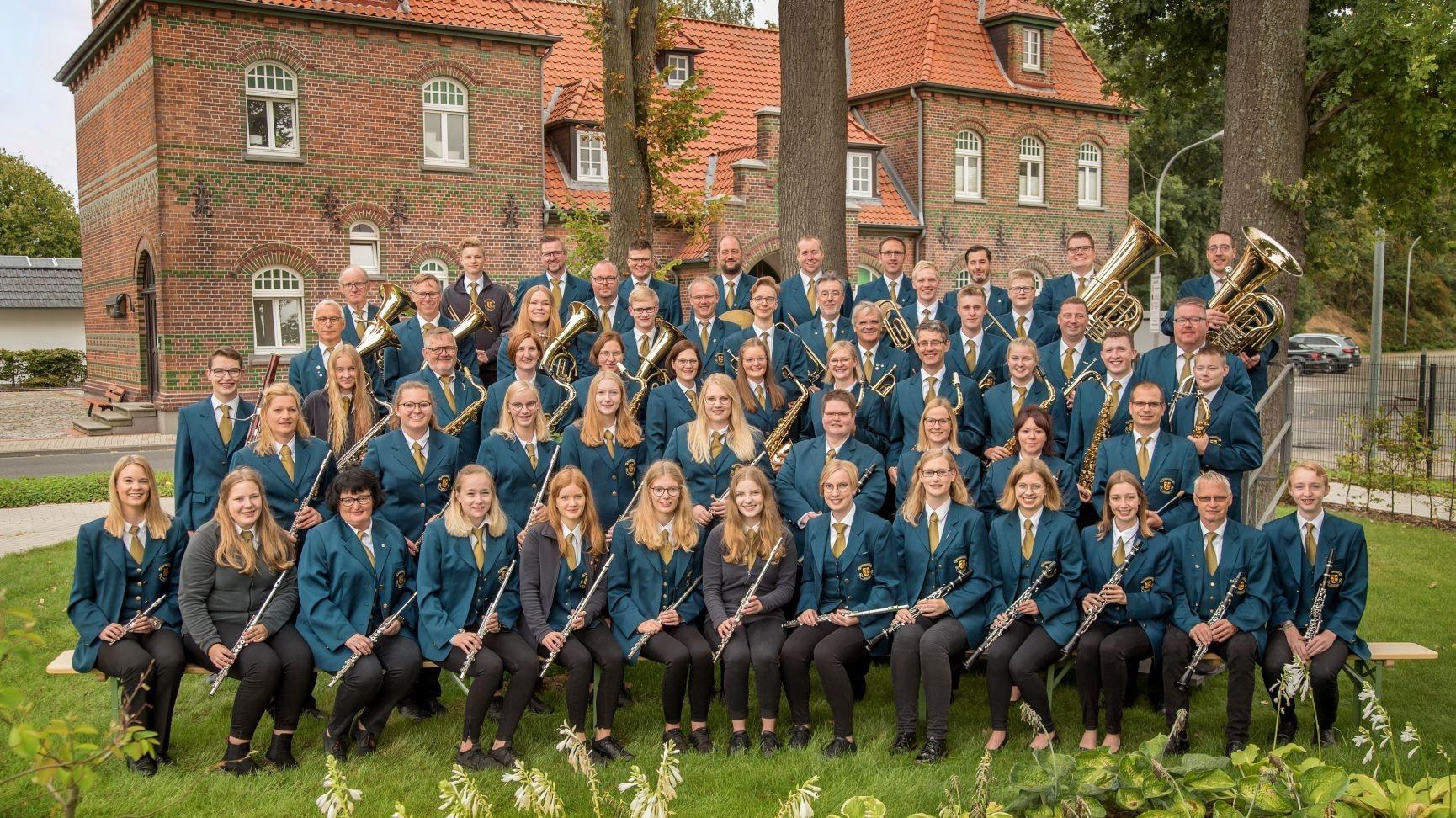 Eine feste Institution in Dinklage: das Kolpingorchester. Das Gruppenbild entstand vor der Pandemie. Foto: Anna Nordhoff