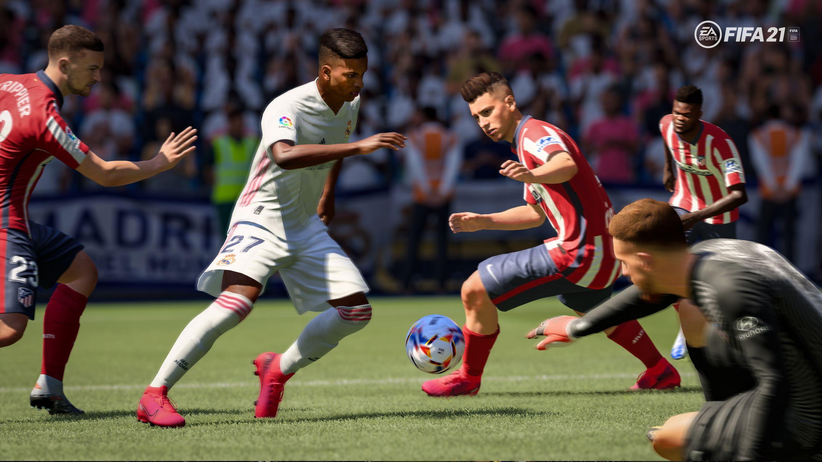 on diesem<em> Freitag (9. Oktober)</em> an können sich Spielerinnen und Spieler selbst ein Bild von der neuen Ausgabe des Spiels machen. Foto: EA Sports/dpa