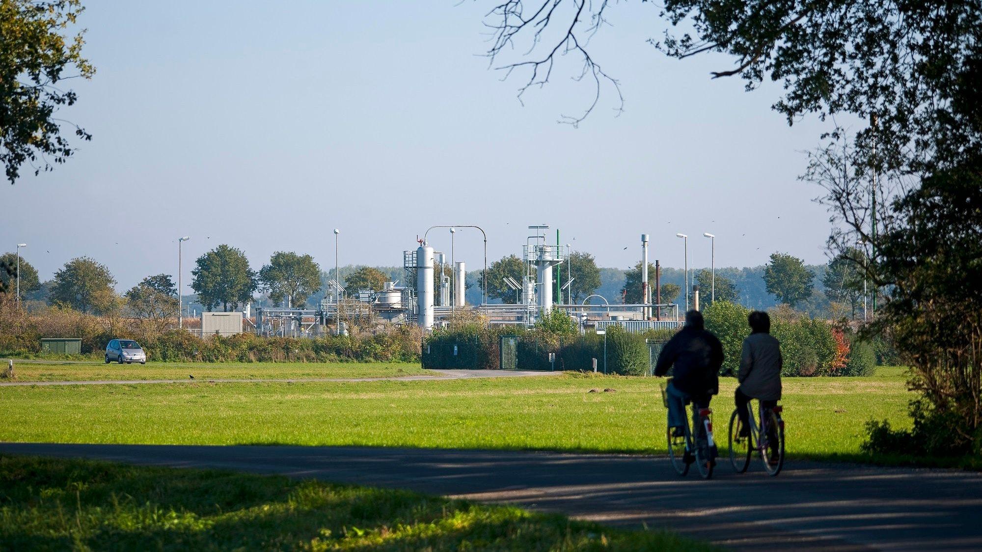 Prägen das Landschaftsbild: Erdgasförderstellen gibt es viele in Südoldenburg. Foto: ExxonMobil