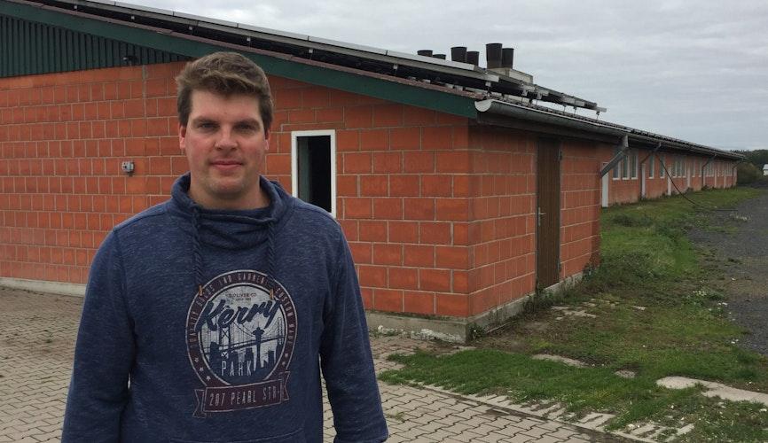 Drängt auf Lösungen: Georg Reinke aus Holtrup. Foto: Tzimurtas