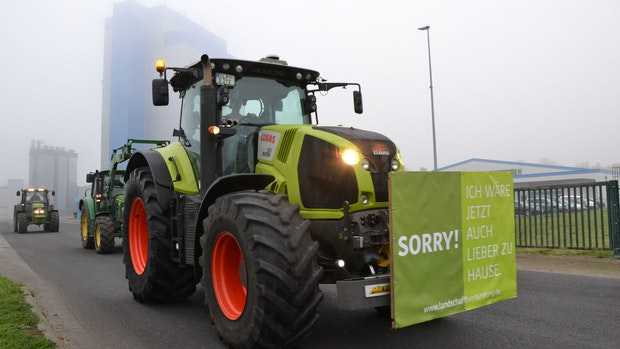 Landwirte verlangen mehr Solidarität