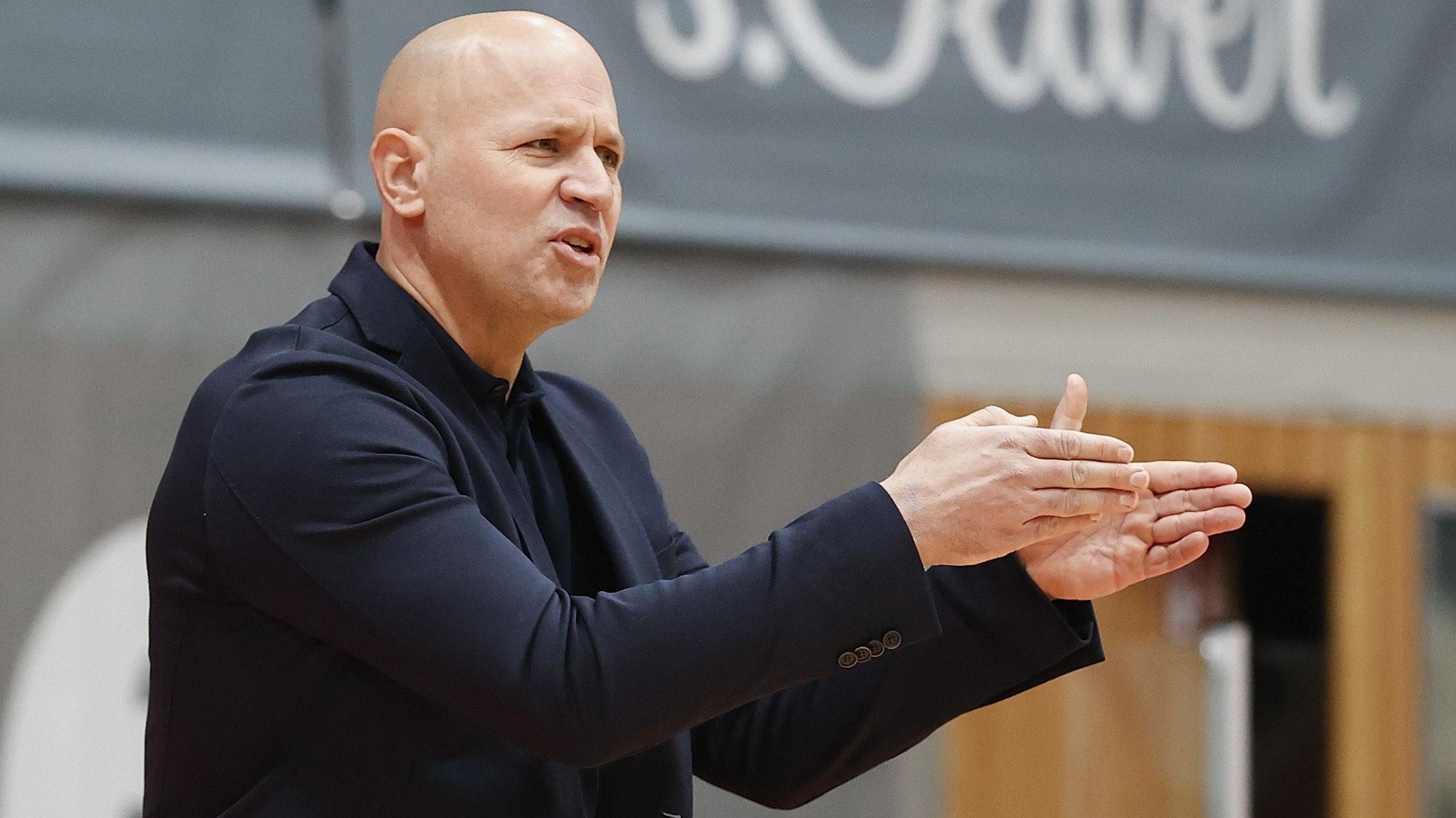 Seit 2018 Trainer in Würzburg: Denis Wucherer. Foto: dpa