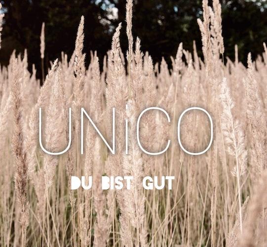 Das neue Album der Band Unico: Du bist gut. Coverfoto: Band Unico