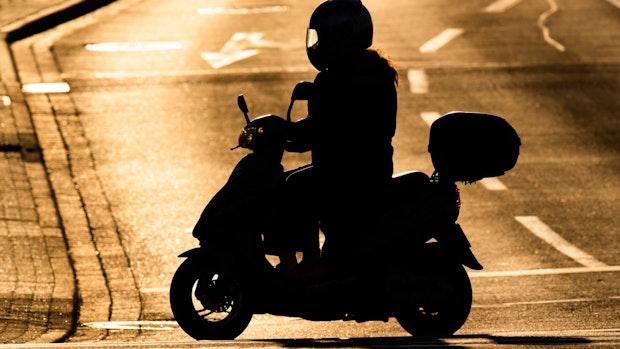 Polizei erwischt zugekoksten Rollerfahrer
