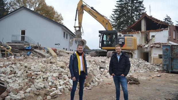 Garthe: Ehemaliges Flüchtlingswohnheim wird abgerissen