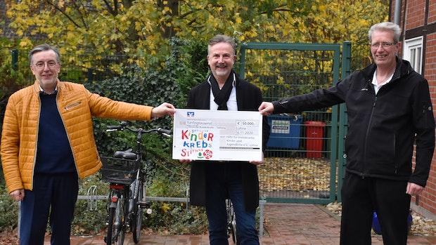 Lohner Verein spendet 50.000 Euro an Deutsche Kinderkrebsstiftung