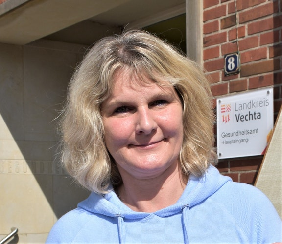 Sandra Guhe ist Leiterin des Gesundheitsamtes Vechta. Foto: Kühn