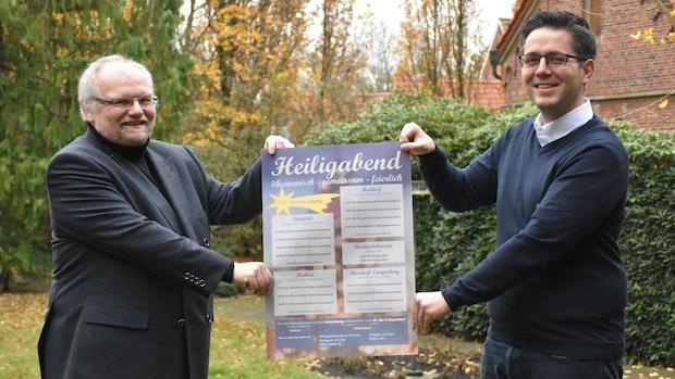 Corona-Heiligabend: Kirchen in Steinfeld und Holdorf feiern zusammen