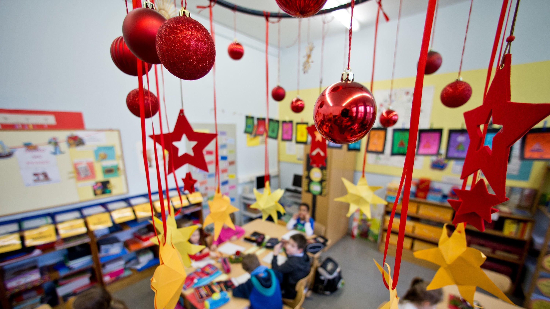 Die Ferien werden länger: Schon am 18. Dezember soll Schulfrei sein. Foto: dpa/Karmann
