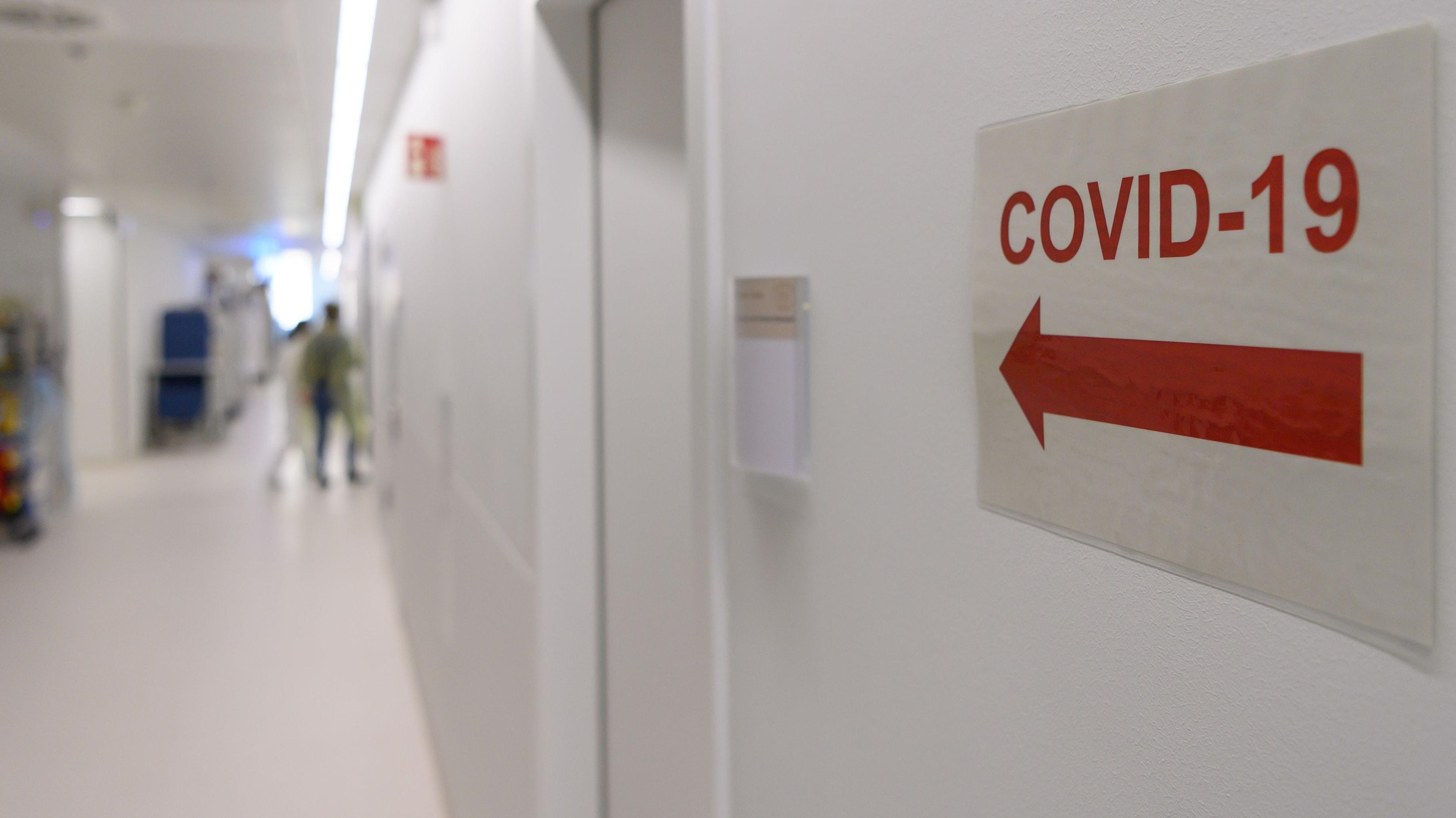19 infizierte Patienten müssen im Kreis Cloppenburg stationär behandelt werden - das sind 6 mehr als am Vortag. Symbolfoto: dpa