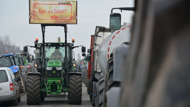 """Lidl fordert nach Bauernprotest einen """"Dringlichkeitsgipfel"""""""