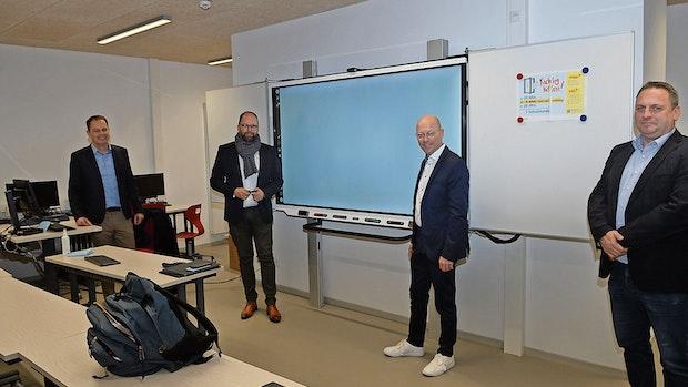 Kreis investiert fast 20 Millionen Euro ins Copernicus-Gymnasium