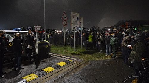 Live-Ticker: Landwirte beenden Lidl-Blockade in Cloppenburg
