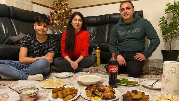 Bei Familie Hasso ist Freitag Bescherung