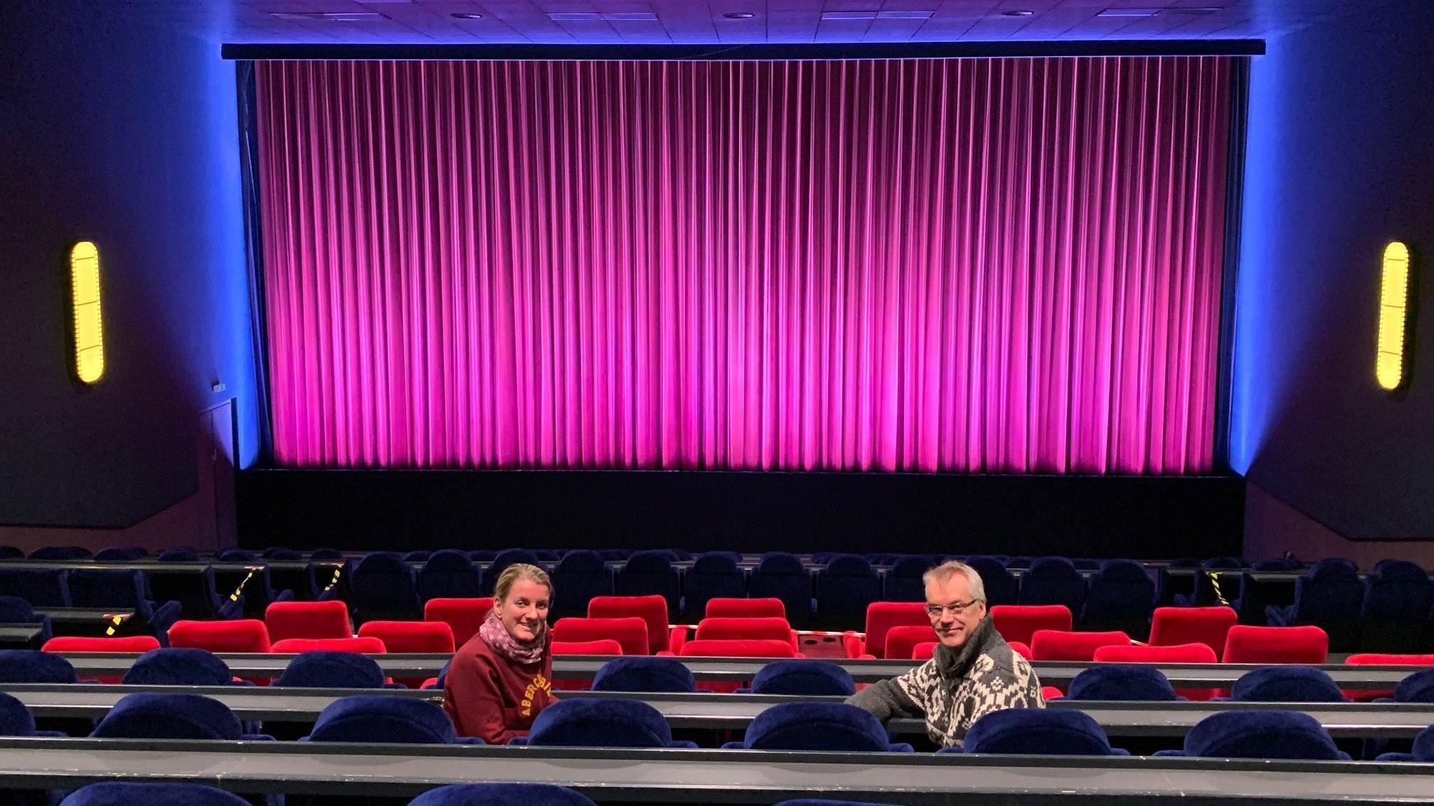 """Setzen auf die """"Magie des Kinos"""": Anja Brendel-Ellmann und Frank Ellmann betreiben das Cinecenter. Foto: © Brendel-Ellmann"""