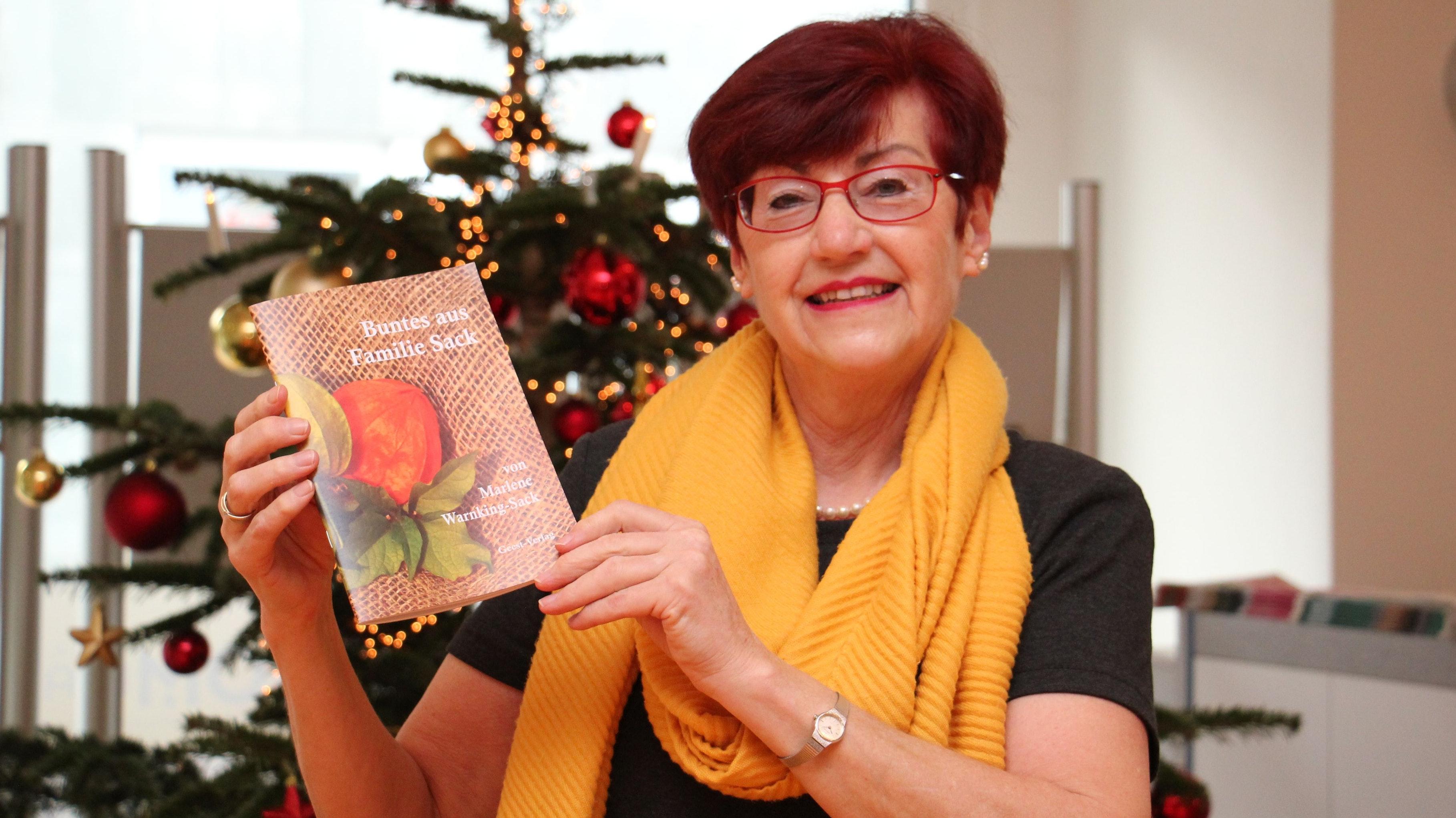 Bunt und kurzweilig: Marlene Warnking-Sack hat persönliche Erlebnisse in einem Buch gebündelt. Foto: Speckmann