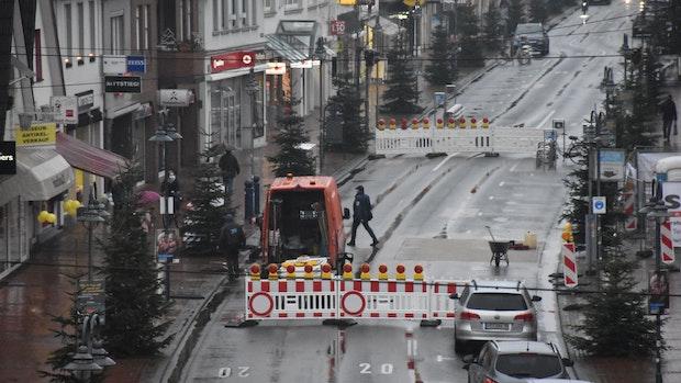 Große Straße in Vechta wird am Freitag gesperrt