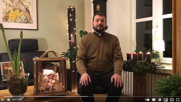 Bakum verkündet die Weihnachtsgeschichte