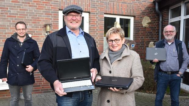Laptops für bedürftige Schüler: Lohner Initiative verzeichnet Erfolge