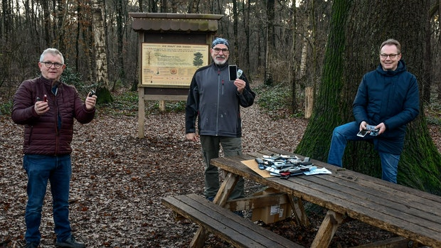 Holdorfer Naturschützer sammeln Handys