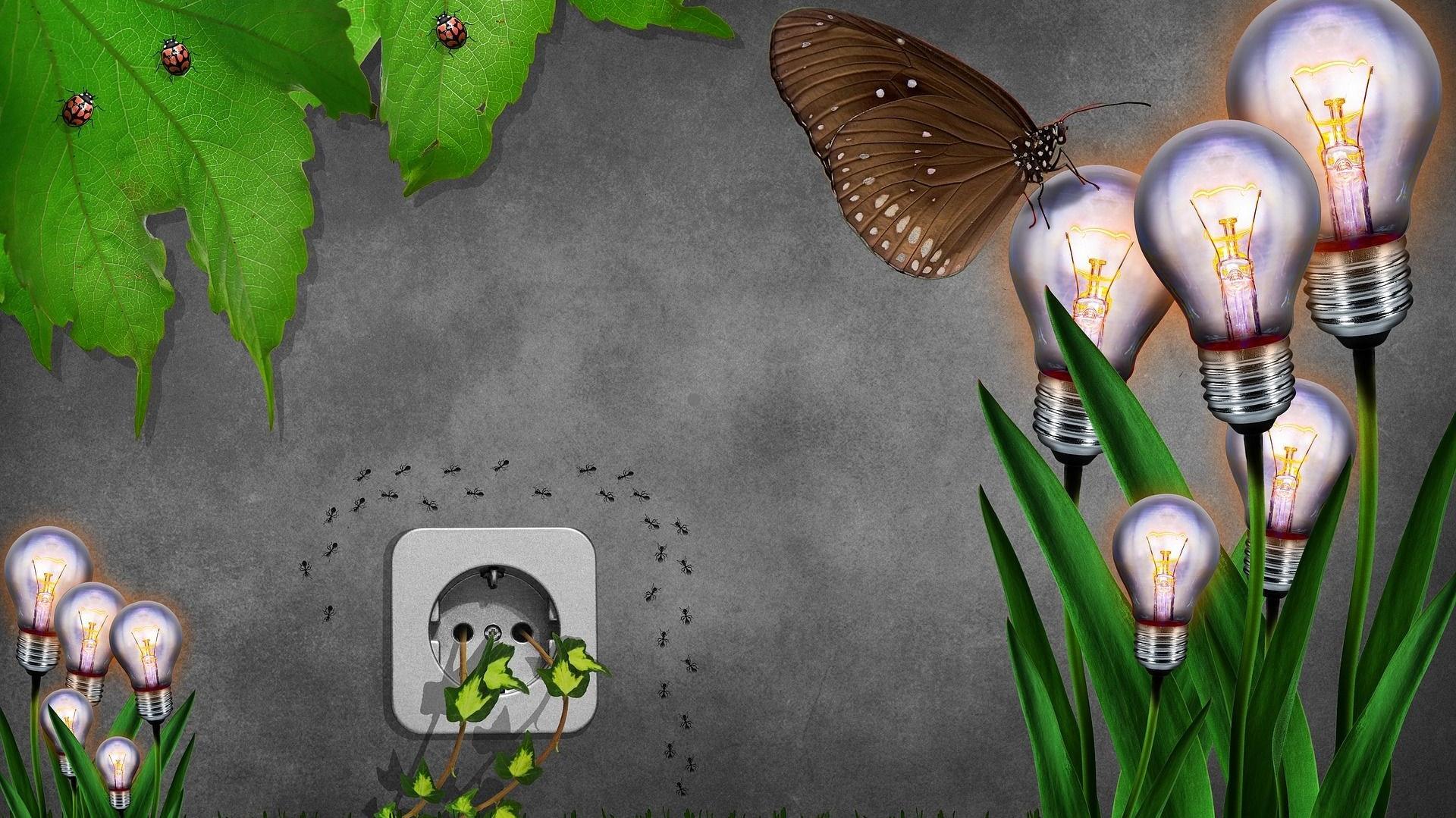 Damit den Dinklagern ein Licht aufgeht: Das Quartierskonzept soll Möglichkeiten aufzeigen, wie sich in älteren Gebäuden und Wohngebieten Energie sparen lässt. Foto: Pixabay