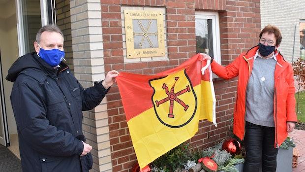 Kita St. Barbara nimmt nach Neubau offiziell ihren Betrieb auf