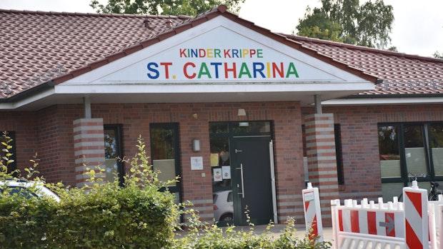 In der Kita St. Catharina herrscht weiter akuter Platzmangel