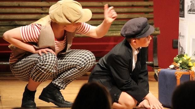 Musical am Antonianum: Ein Junge lässt sich nicht unterkriegen