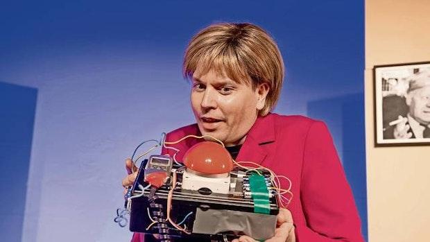 Mit Merkels Zeitmaschine in die Zukunft