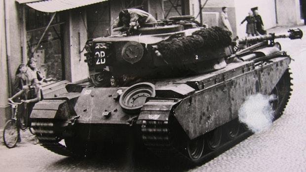 """""""Dann kam um 12 Uhr die Panzerspitze"""""""