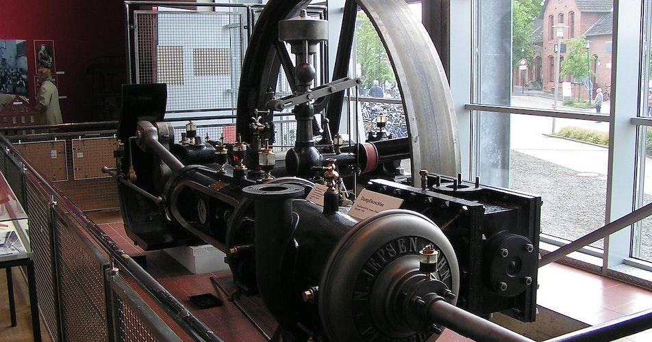 Wissenswertes über die Geschichte der Industrialisierung bietet das Industriemuseum Lohne.