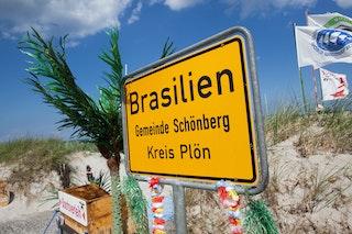 Nordsee-Idylle: Willkommen in Brasilien. Foto: dpa