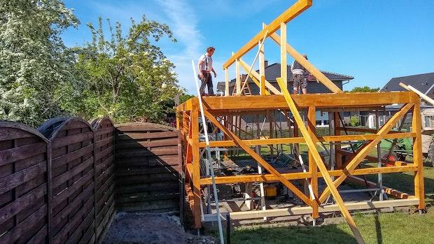 """Endspurt beim Projekt """"Wetterschutzhütte"""""""