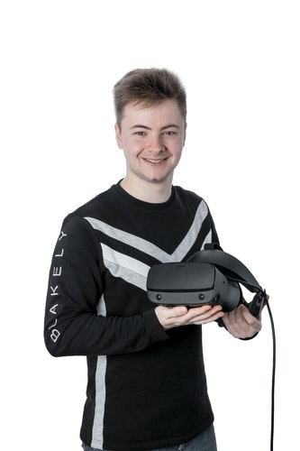 Das Theater ist seine Welt, mit Virtual Reality hat er sich zuletzt intensiv beschäftigt: Vincent Kaufmann. Foto: Krone